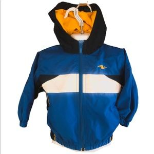 Toddler Blue Athletic Works Hooded Windbreaker 18M